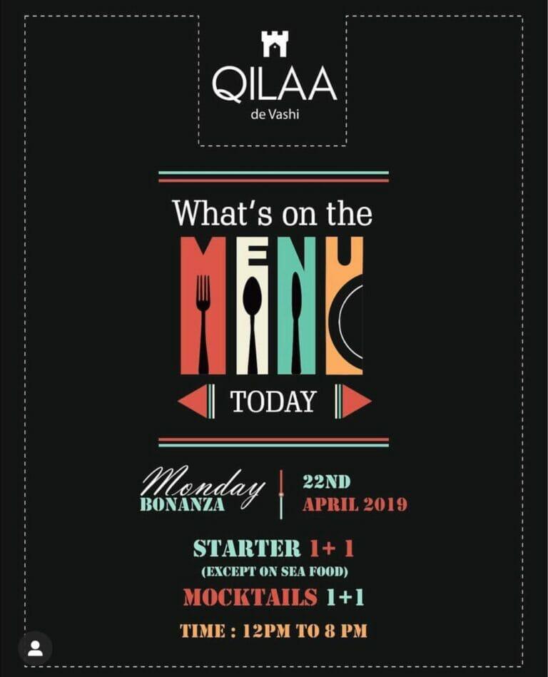 menu today